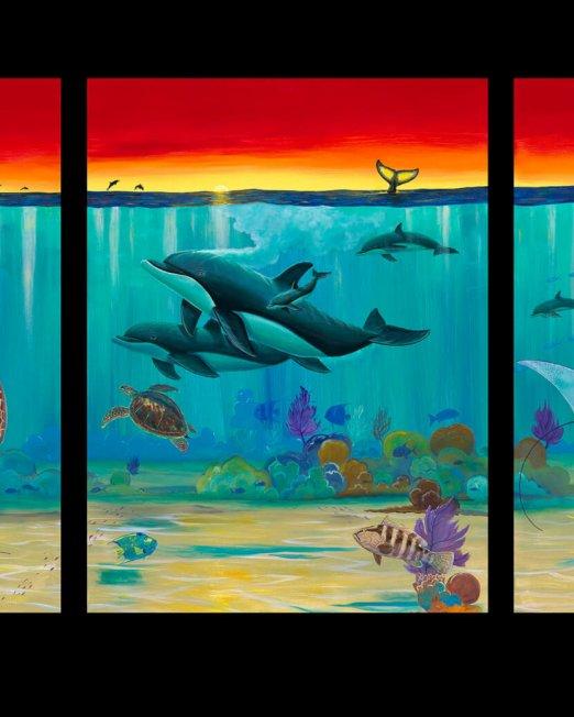 The Sea_Triptych_GuyHarvey_