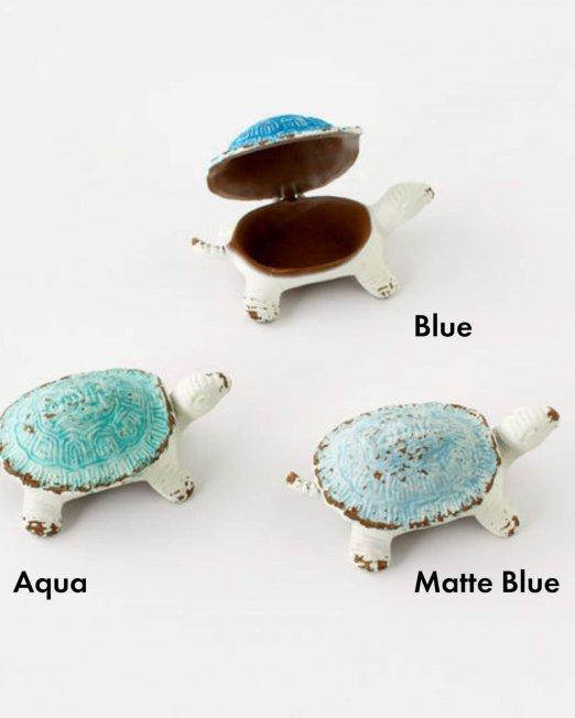 cast iron turtle boxes