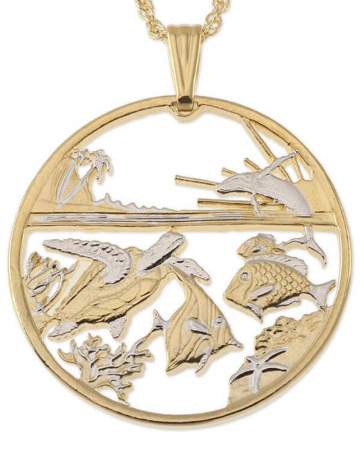 sea-life-pendant-and-necklace-hawaii-five-dollar-trade-coin-hand-cut-14-karat-gold-and-rhodium-plated-1-1-2-in-diameter-770-5f284f83