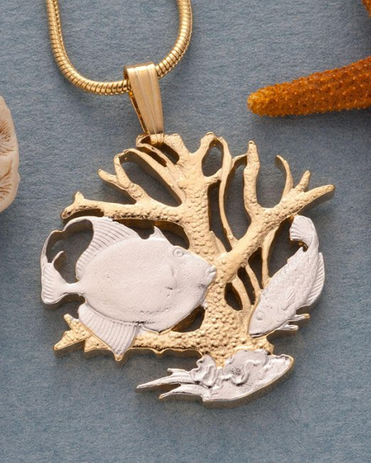 sealife-pendant-and-necklace-barbados-coin-jewelry-hand-cut-coin-jewelry-coin-jewelry-nautical-jewelry-1-in-diameter-25-5f285136