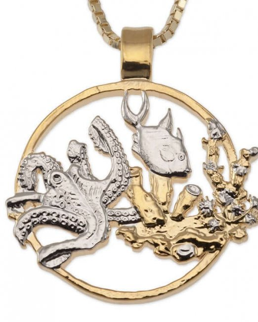sealife-pendant-and-necklace-gibralter-one-crown-sealife-coin-hand-cut-14-karat-gold-and-rhodium-plated-1-1-8-in-diameter-639-5f284fdd