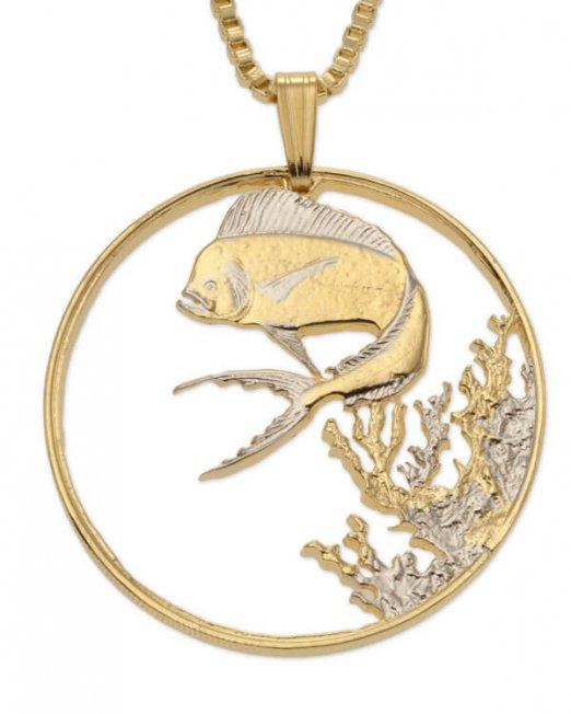 dolphin-fish-pendant-sea-life-pendant-sea-life-jewelry-dolphin-necklace-1-1-8-in-diameter-942-5f2851d8