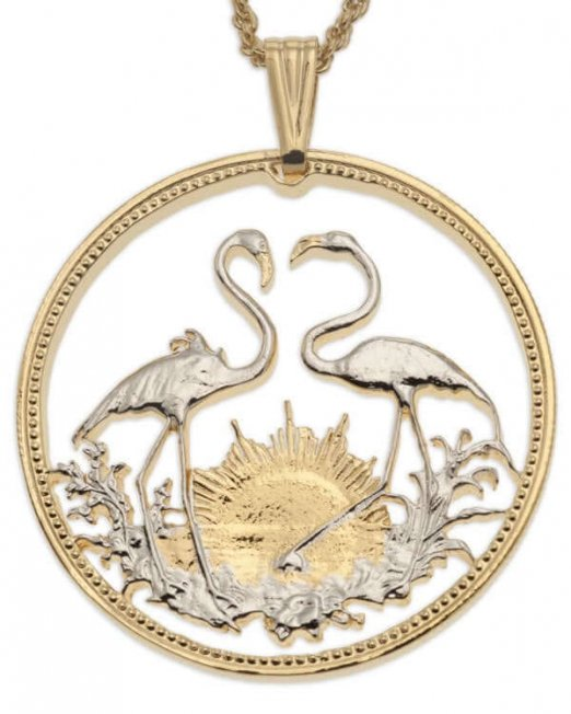 flamingo-pendent-and-necklace-bahamas-coin-jewelry-ethnic-jewelry-hand-cut-coins-coin-jewelry-tropical-jewelry-bird-jewelry-14-5f28555d